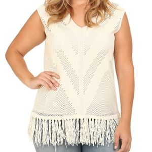 NWT Vince Camuto | Morrocan Mirage Sweater Vest